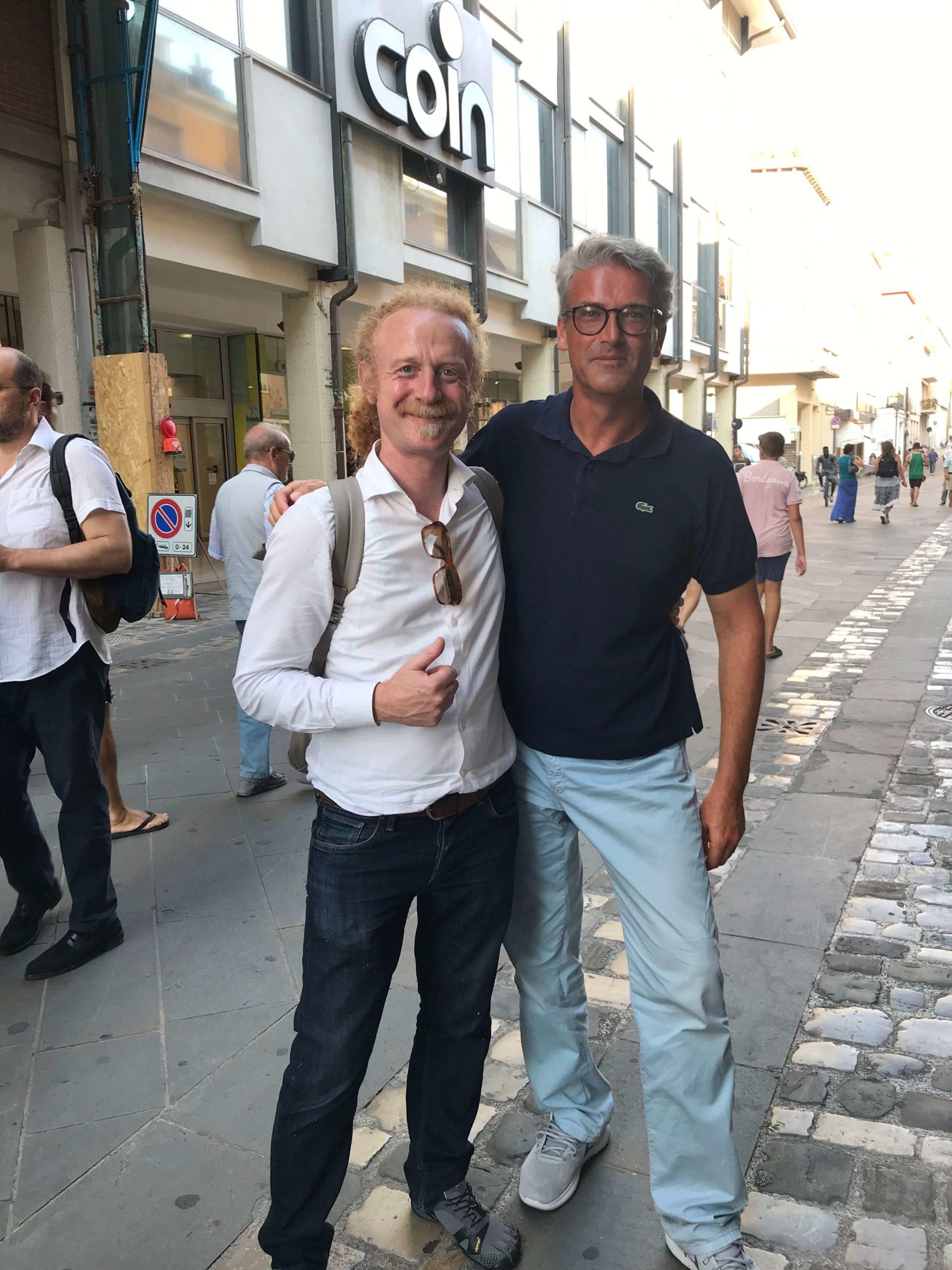 Massimiliano Montebelli YourBoost Start Up Innovativa e Ugo Mendes Donelli Business Model Canva